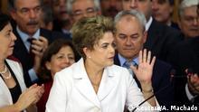 Brasilien Präsidentin Dilma Rousseff Rede