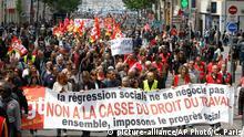 Frankreich Marseille Proteste Arbeitsmarktgesetz
