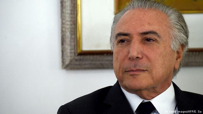 Brasilien Vize-Präsident Michel Temer