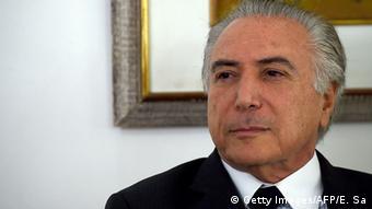 Brasilien Vize-Präsident Michel Temer (Bild: Getty Images/AFP/E. Sa)