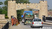 Torkhum border, Peshawar (Photo: Danish Baber / DW)