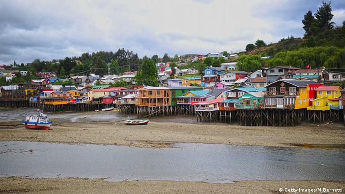 Chiloe Chile Rote Flut