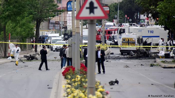 Türkei Bombenangriff in Istanbul