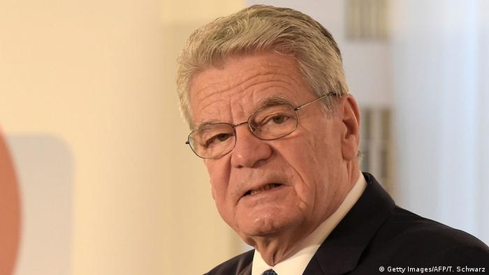 president joachim gauck