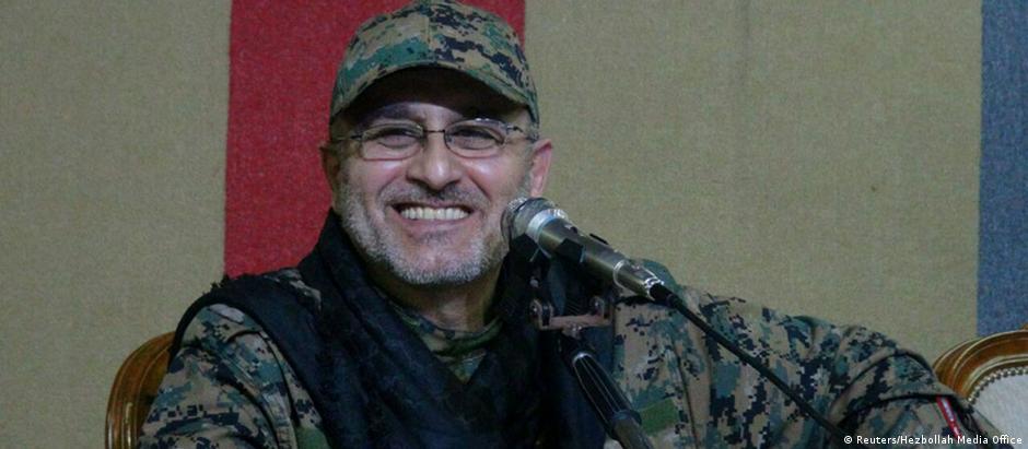 Mustafa Amine Badreddine, comandante militar do grupo xiita libanês Hisbolá, morto na Síria