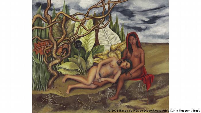 Frida Kahlos Bild 'Dos desnudos en el bosque', Foto: c) 2016 Banco de México Diego Rivera Frida Kahlo Museums Trust