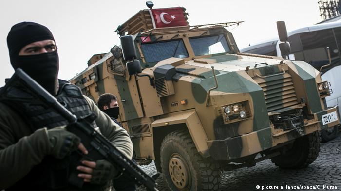 Türkei Militär in Diyarbakir