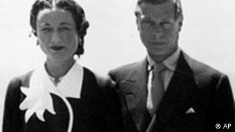 Edward VIII mit Wallis Simpson