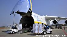 Frachtflugzeug Antonov 225 Ladung