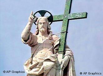 Статуя на Исус Христос във Ватикана