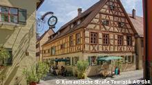 Deutschland Romantische Straße Nördlingen Luftaufnahme