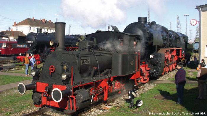 Deutschland Romantische Straße Eisenbahnmuseum Nördlingen