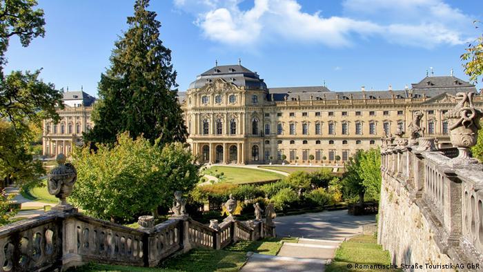 Deutschland Romantische Straße Würzburg Schloss