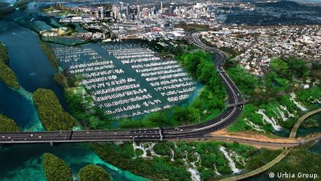 Mit dem Global Award for Sustainable Architecture ausgezeichnetes Bauprojekt des Architekten Bernd Gundermann in Auckland, Neuseeland (Foto: Urbia Group Bernd Gundermann)