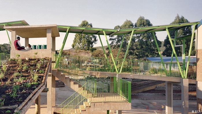 Mit dem Global Award for Sustainable Architecture ausgezeichnetes Bauprojekt der East Coast Architects (Foto: ECA)