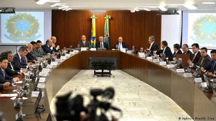 Brasilien Interimspräsident Michel Temer