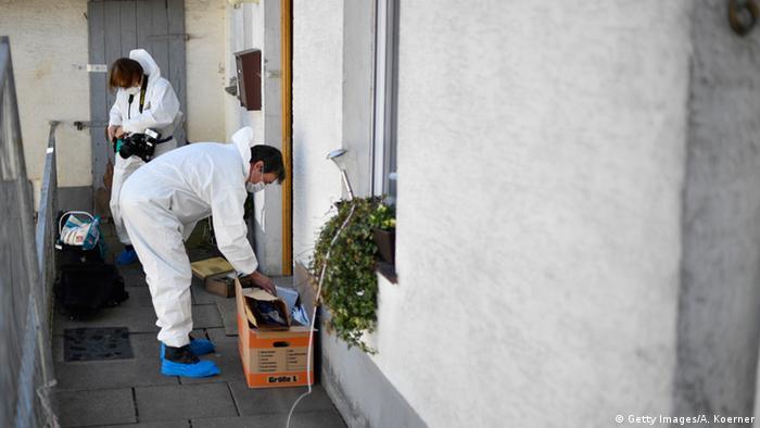Deutschland Haus des beschuldigten Paars in Höxter (Getty Images/A. Koerner)