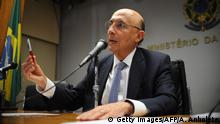 Brasilien Finanzminister Henrique Meirelles