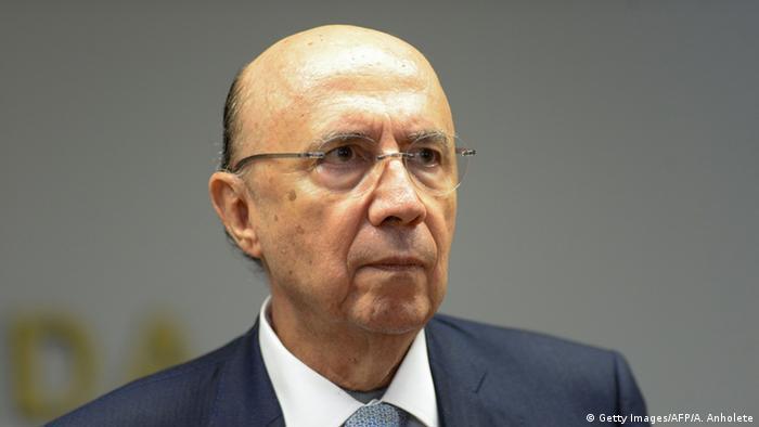 Brasilien Finanzminister Henrique Meirelles (Getty Images/AFP/A. Anholete)