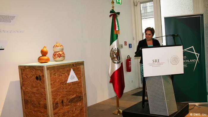 La embajadora de México en Alemania, Patricia Espinosa.