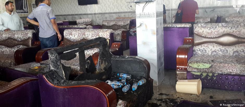 Trio armado abre jogo contra café frequentado por torcedores do Real Madrid no Iraque