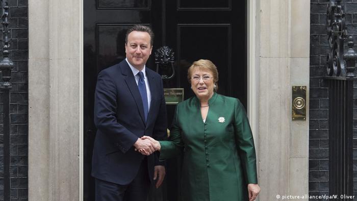 Chilenische Präsidentin in London