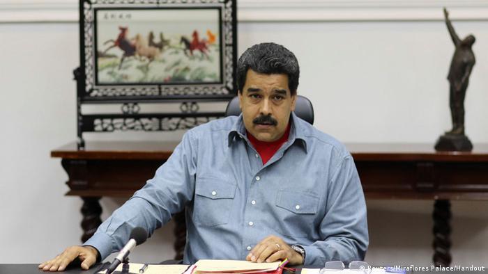 Venezuela Präsident Nicolas Maduro Ministerrat
