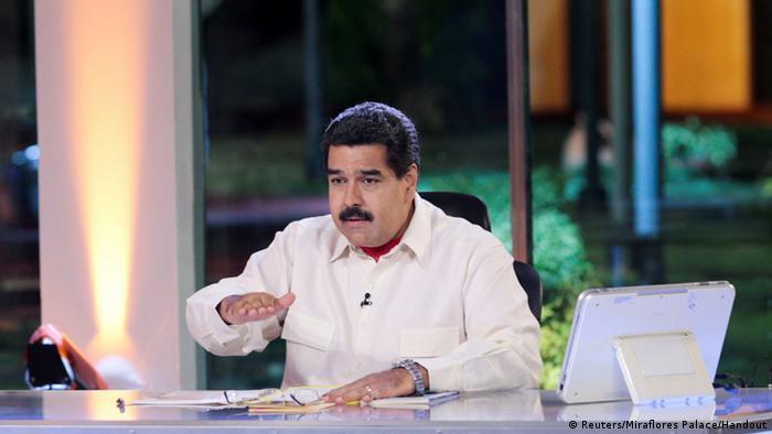 Venezuela Präsident Nicolas Maduro Wochenansprache