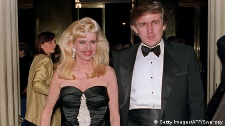 USA Ivana Trump & Donald Trump (Getty Images/AFP/Swerzey)