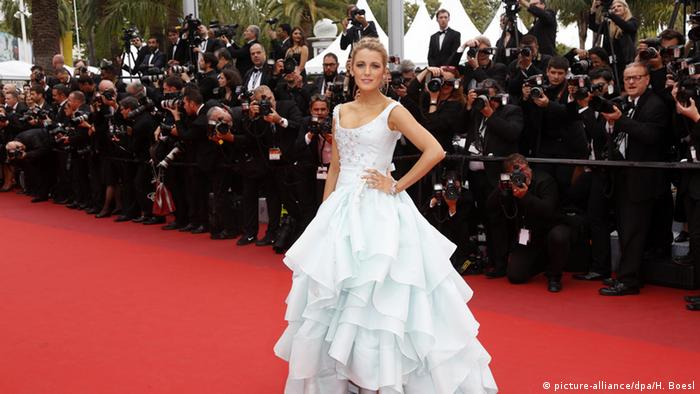 Filmfestival Cannes Blake Lively (picture-alliance/dpa/H. Boesl)