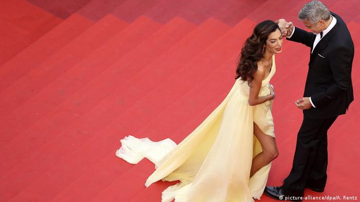 Filmfestival Cannes George Clooney mit Frau