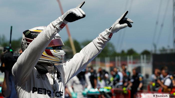 Hamilton tog pole position i spaniens gp