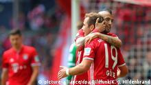 Deutschland Fußball Bundesliga 2016 34. Spieltag FC Bayern München - Hannover 96