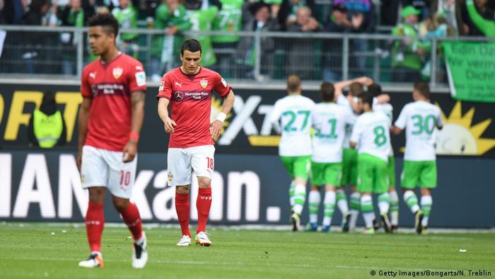 Fußball Bundesliga VfL Wolfsburg - VfB Stuttgart
