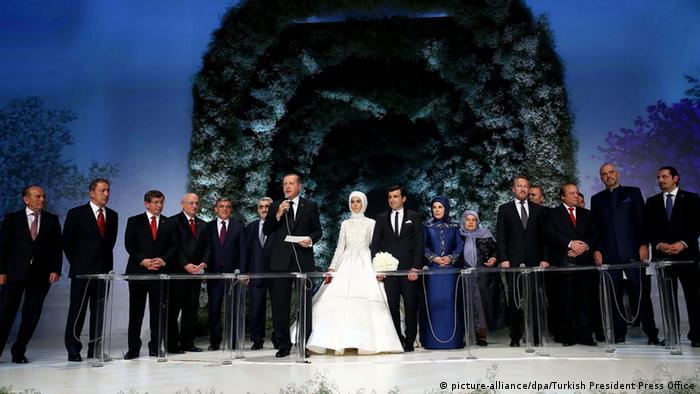 Erdogan Tochter Feiert Hochzeit In Istanbul Allinfo