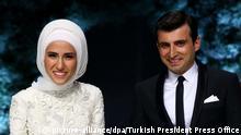 Türkei Istanbul Hochzeit Sümeyye Erdogan
