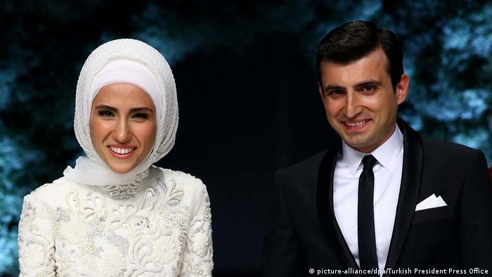 Сюмейе Ердоган и съпругът ѝ