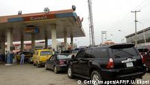 Nigeria Lagos Benzinpreis
