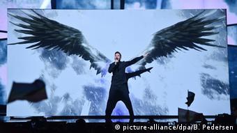 Выступление россиянина Сергея Лазарева на Евровидении-2016