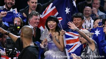 Eurovision Song Contest in Stockholm Dami Im Australien (picture-alliance/IBL/K. Törnblom)