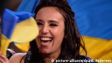 Eurovision Song Contest in Stockholm Jamala Ukraine Finale Gewinnerin