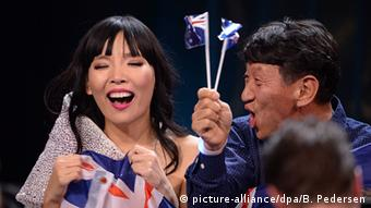 Eurovision Song Contest in Stockholm Dami Im Australien