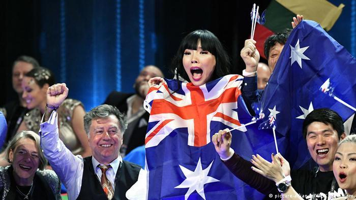 Eurovision Song Contest in Stockholm Dami Im Australien