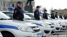Russland Polizei in Samara