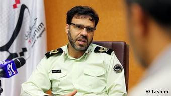 Iran Saeed Montazer al-Mahd Polizeisprecher (tasnim)