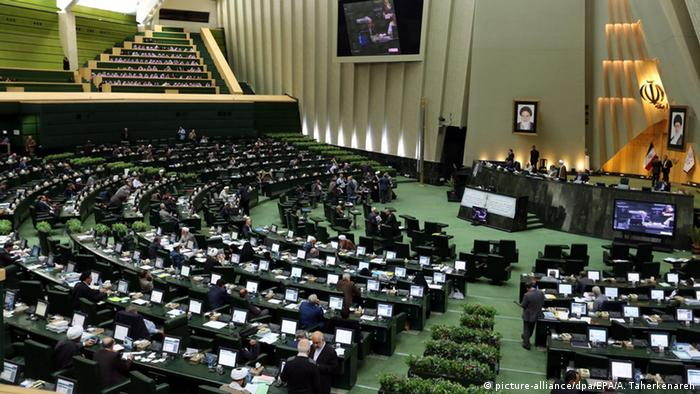 Iran Parlament Teheran Parlamentssitzung