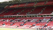 Großbritannien Fußball Stadion Manchester United teilweise evakuiert