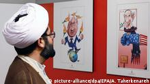 Iran Teheran Holocaust-Cartoon-Ausstellung Sureh Culture Hall