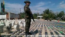 Kolumbien Mindestens acht Tonnen Kokain beschlagnahmt