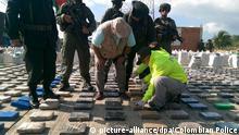 Kolumbien Drogenschmuggel 8 Tonnen Kokain beschlagnahmt